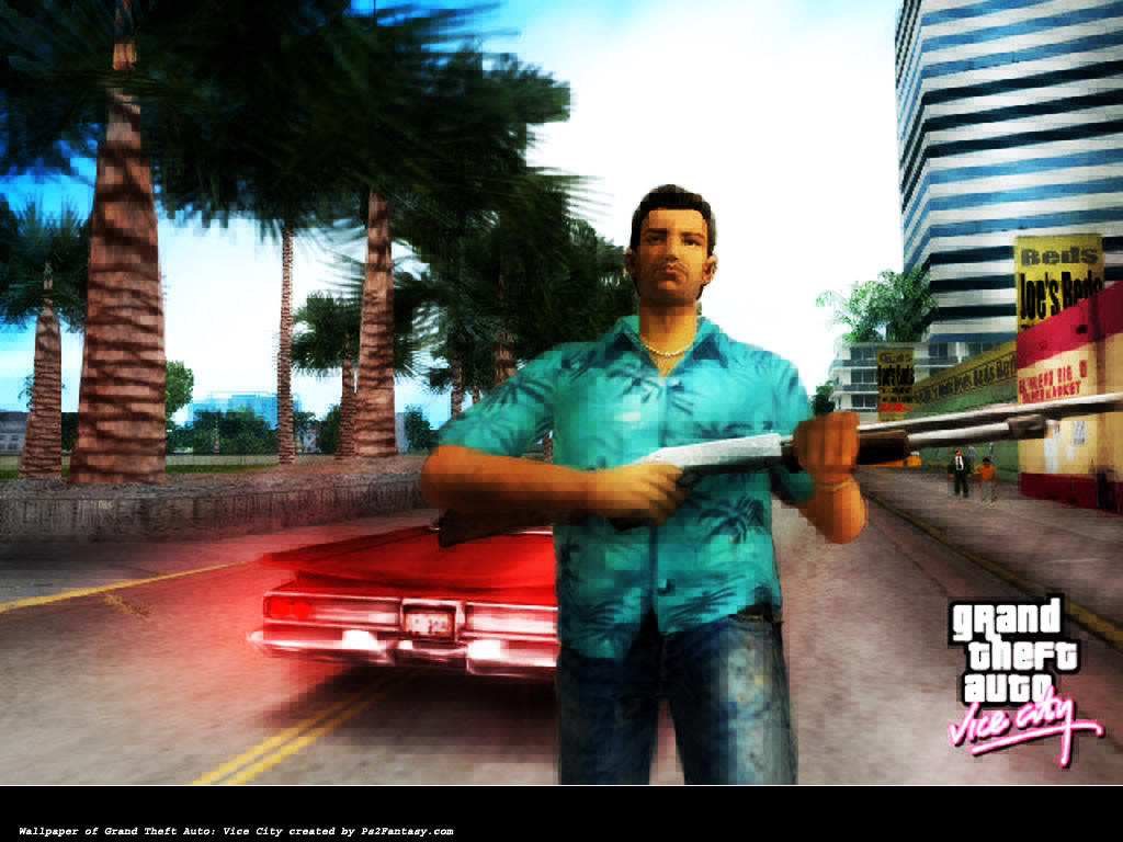 Playstation 2 Grand Theft Auto Vice City Downloads At Ps2fantasy Com