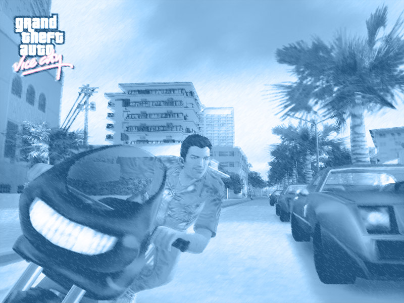 grand theft auto vice city wallpaper. PlayStation 2: Grand Theft Auto: Vice City Downloads at Ps2Fantasy.com